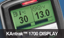 kantrack 1700 display